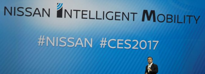 Nissan Intelligent Mobility au CES 2017